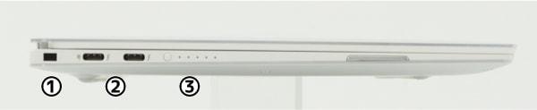 XPS 13 (9380) 右側面