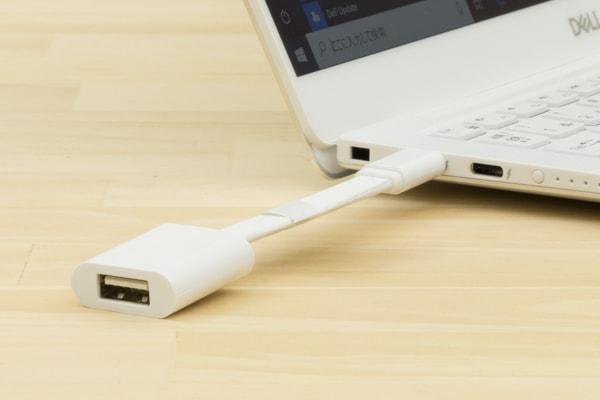 XPS 13 (9380) USBアダプター