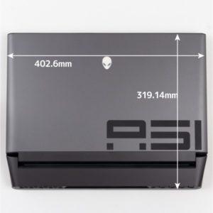 Alienware Area-51m 本体サイズ