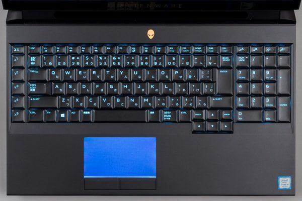 Alienware Area-51 キーボード