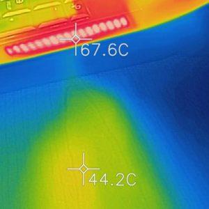 Alienware Area-51m 排気口の熱