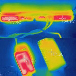 Alienware Area-51m 電源アダプターの熱