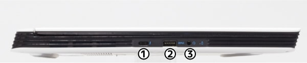 Dell G5 15 5590 左側面