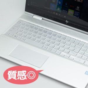 HP ENVY 15 x360 キーボード面