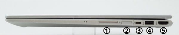 HP ENVY 15 x360 右側面