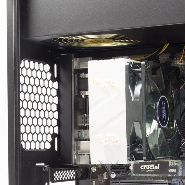GALLERIA GAMEMASTER GX70R7 CPUクーラー