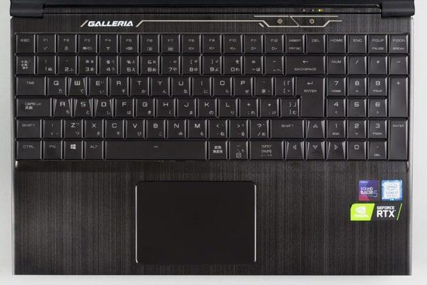 GALLERIA GCF2060-E キーボード