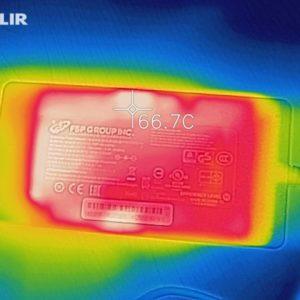 GALLERIA GCF2060-E 電源アダプターの熱