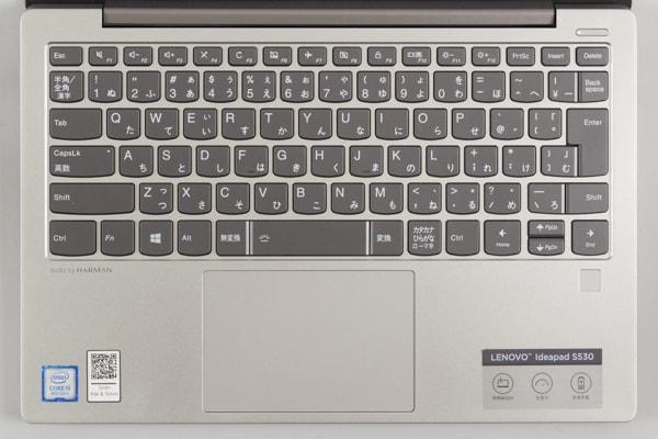 Ideapad S530 キーボード