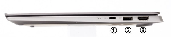 Ideapad S530 右側面