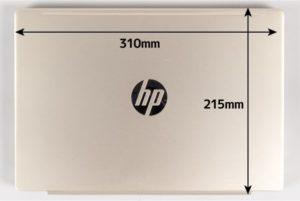 HP Pavilion 13-an0000 本体サイズ