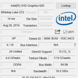 HP Pavilion 13-an0000 GPU
