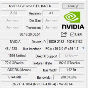 GALLERIA ST GPU