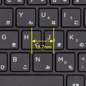 HP ProBook 430 G5 キーピッチ