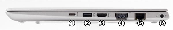 HP ProBook 430 G5 右側面