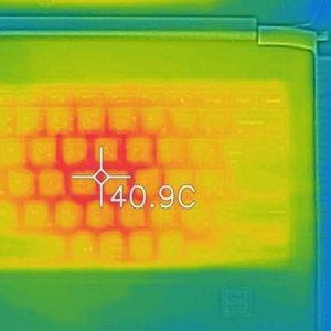 HP ProBook 430 G5 本体の熱