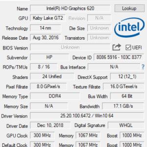 HP ProBook 430 G5 GPU
