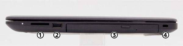 HP 250 G7 右側面