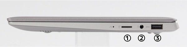 Ideapad S130 (11) 右側面