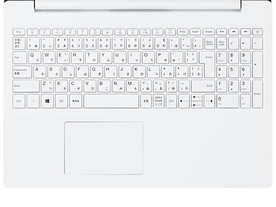 LAVIE Direct NS 2019年夏モデル キーボード