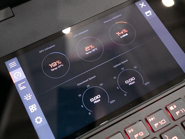 OMEN X 2S システムバイタル