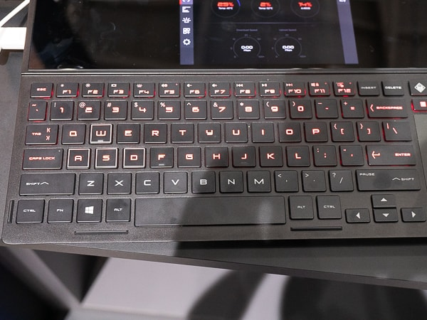 OMEN X 2S キーボード