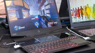 HP OMEN X 2S 展示機レポート:2画面はゲームで勝てる!