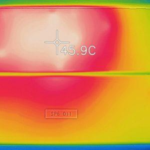 Surface Pro 6 温度