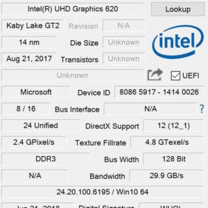 Surface Pro 6 GPU