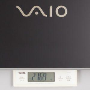 VAIO S15 重さ