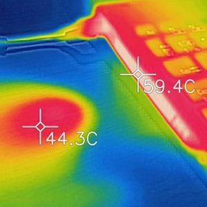 VAIO S15 本体の温度