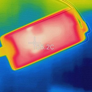 VAIO S15 アダプターの温度