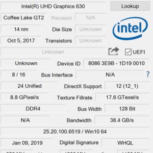 VAIO S15 GPU