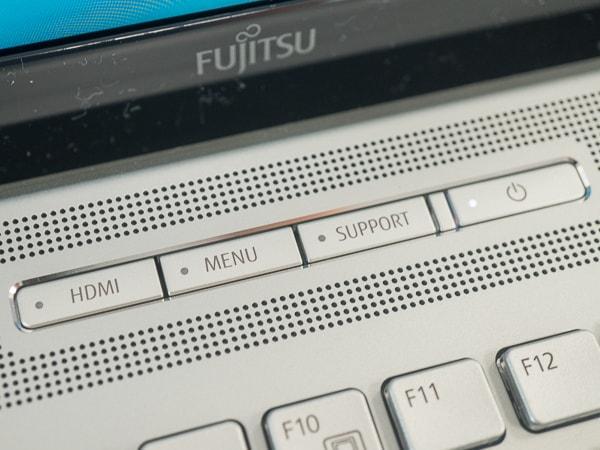 LIFEBOOK NH90/D2 HDMIボタン