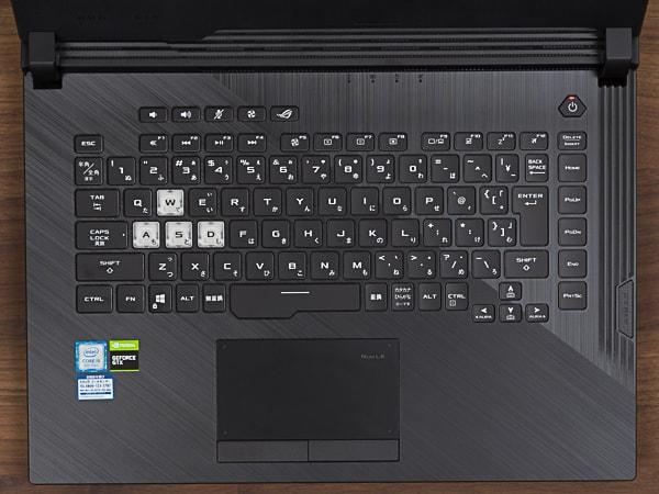 ROG Strix G G531GT キーボード