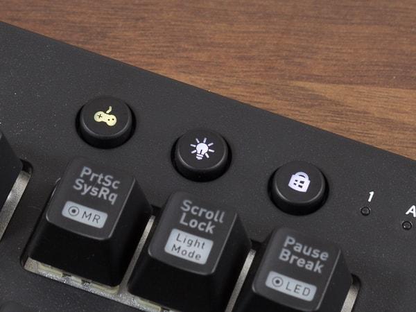 X1 RGB ボタン