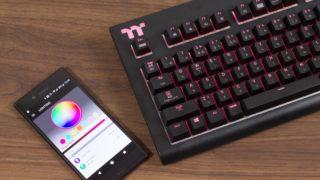 Thermaltake X1 RGB レビュー:高速スイッチ対応のRGBゲーミングキーボード