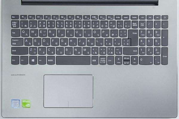 ideapad 520 キーボード