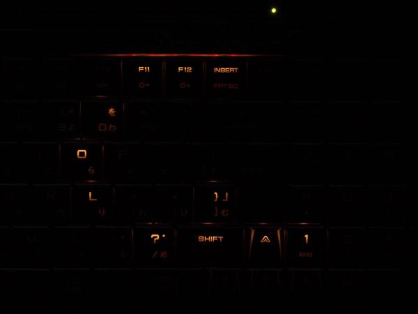 GALLERIA GCR2070RGF-E 発光パターン