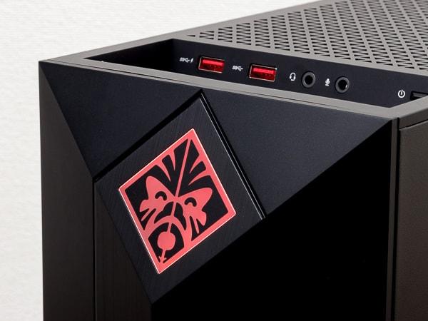OMEN OBELISK Desktop 875 エンブレム