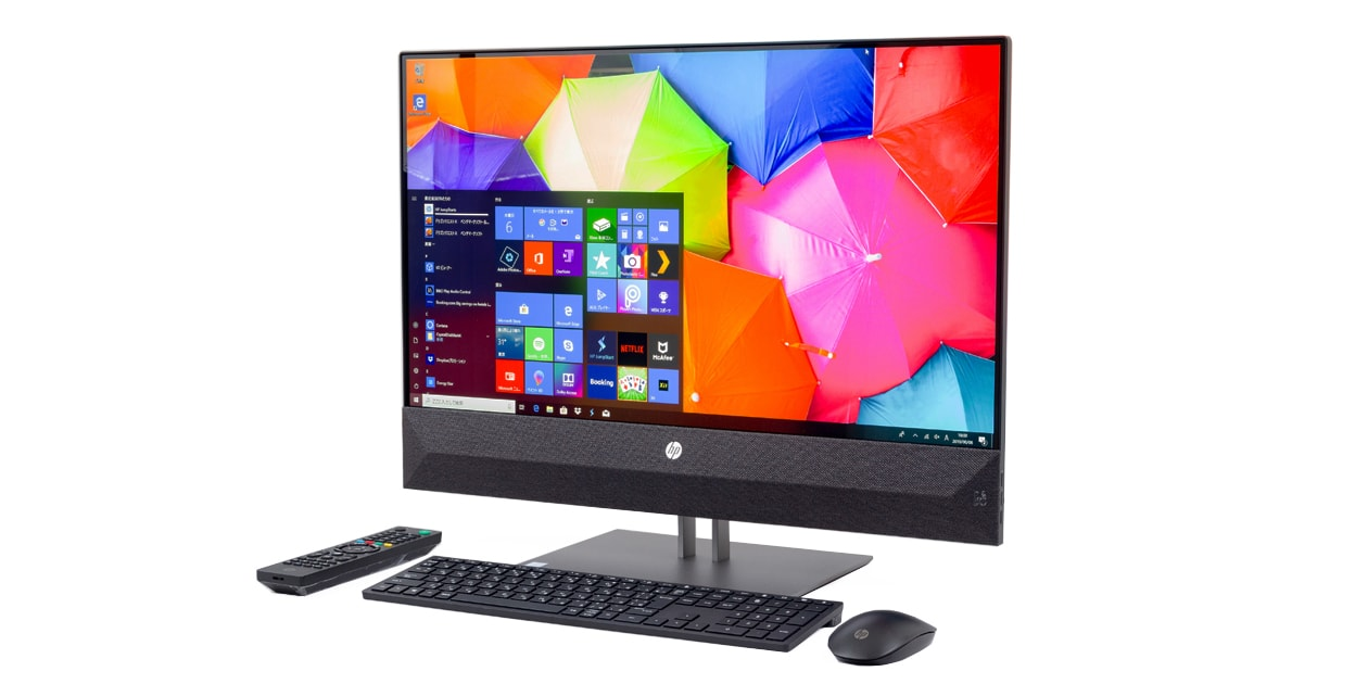 HP Pavilion All-in-One 27 レビュー