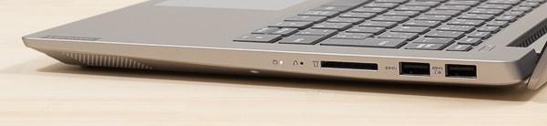 IdeaPad S340 (14, AMD) 右側面