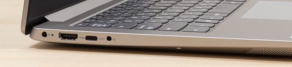 IdeaPad S340 (14, AMD) 左側面