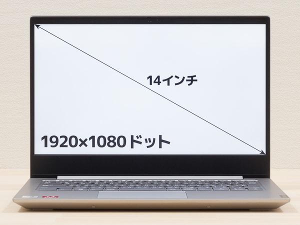 IdeaPad S340 (14, AMD) 液晶ディスプレイ