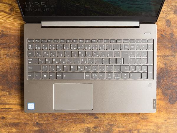 IdeaPad S540 (15) タイプ音