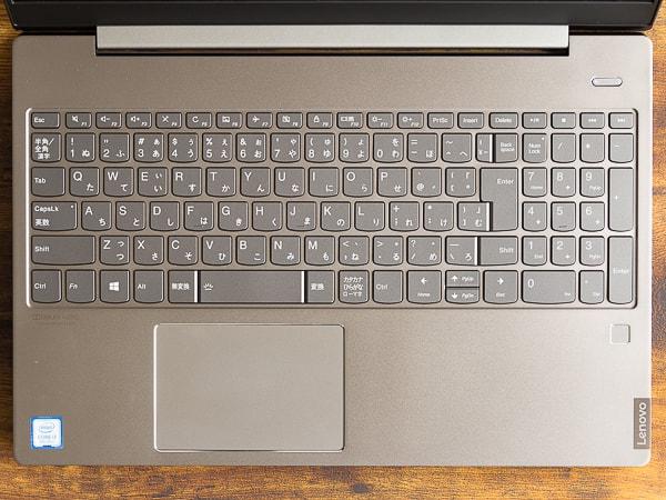 IdeaPad S540 (15) キーボード