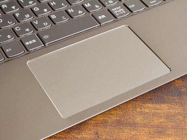 IdeaPad S540 (15) タッチパッド