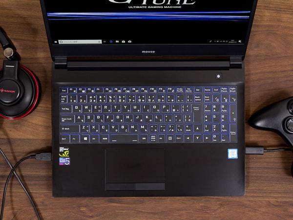 NEXTGEAR-NOTE i5565 キーボードの使い心地