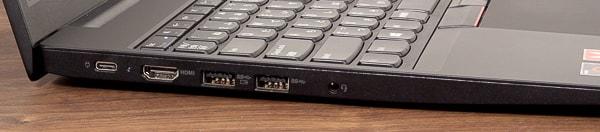 ThinkPad E595 左側面