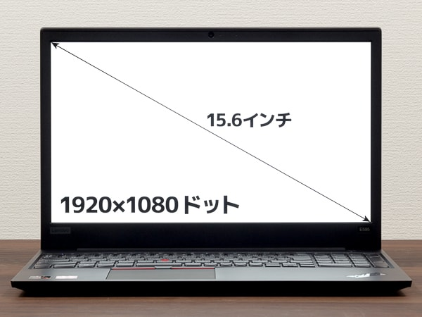 ThinkPad E595 液晶ディスプレイ